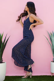 Drops Of Jupiter Jumpsuit (Navy)