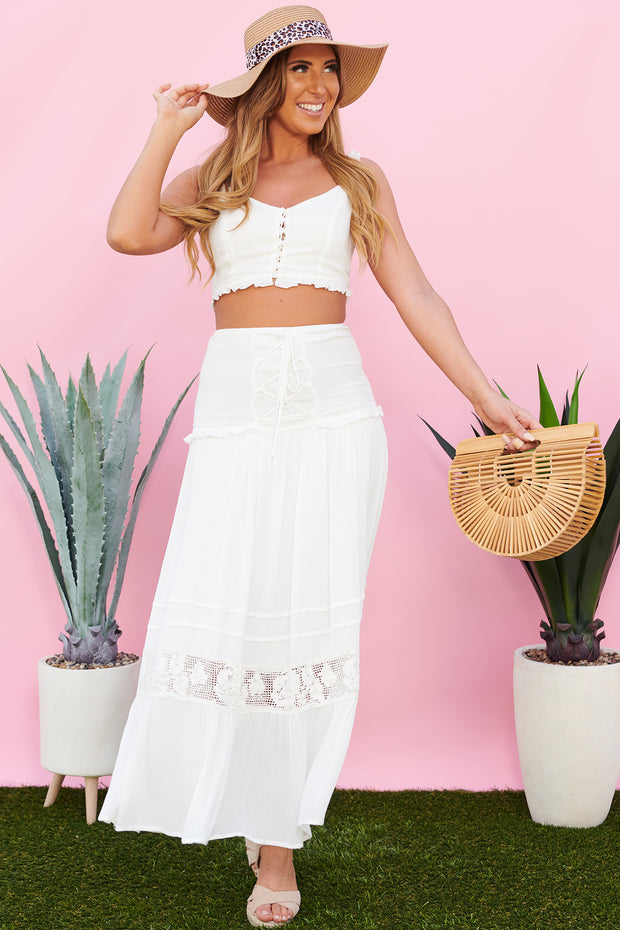 Play It Again Two Piece Set (Off White)