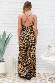 Wild Spirit Jumpsuit (Brown)