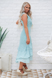 Awesome Blossom Dress (Sage)