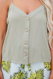 Mystic Forest Tank Top (Olive)