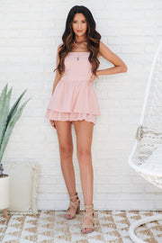Total Bliss Romper (Rose)
