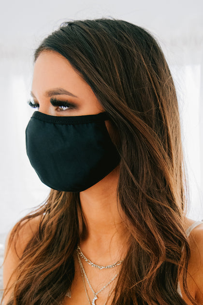 Children And Young Adults Non-Medical Cloth Mask (Black ...