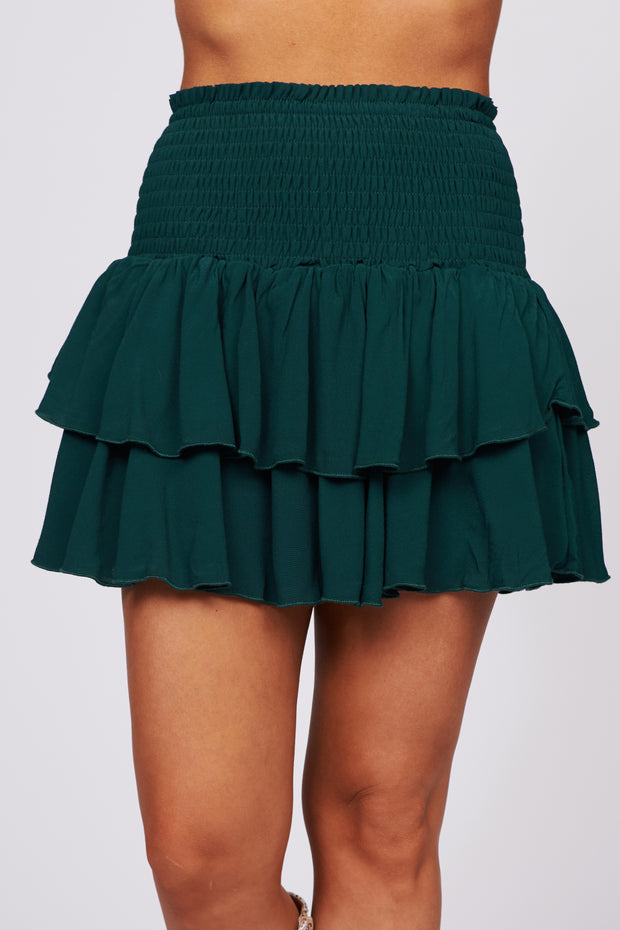 Better Every Day Ruffle Mini Skirt (Amazon) - NanaMacs