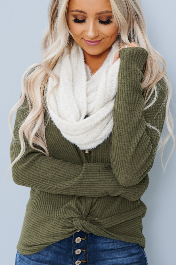 Another Glance Infinity Scarf (Nude) - NanaMacs