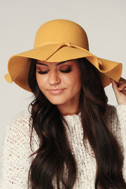 Edge Of Town Boho Hat (Mustard)