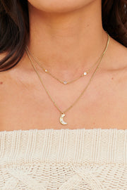 Because I Said So Layered Necklace (Antique Gold) - NanaMacs