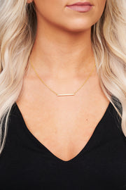Simply The Best Charm Necklace (Gold) - NanaMacs