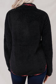 To The Touch Pullover (Black/Wine) - NanaMacs