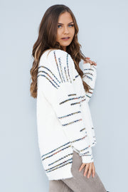 Head Above Water Sweater (Ivory Multi) - NanaMacs