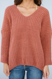 Snowball Fight Sweater (Ginger)