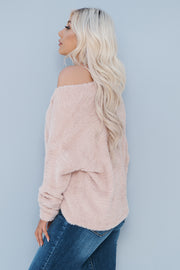Keep Me Cozy Cardigan (Blush) - NanaMacs