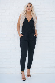 Now You Know Jumpsuit (Black) - NanaMacs