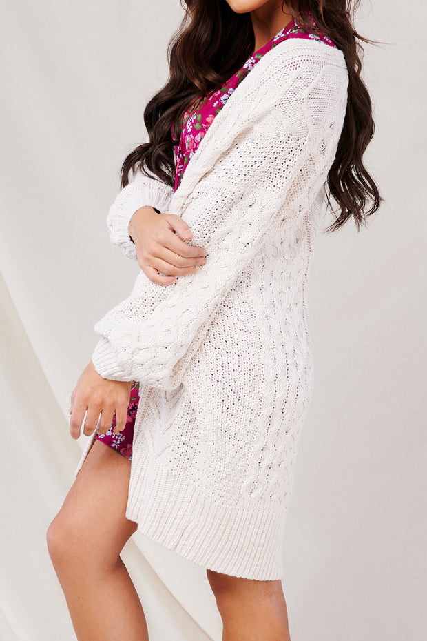 Delightful Ways Cardigan (Cream) - NanaMacs