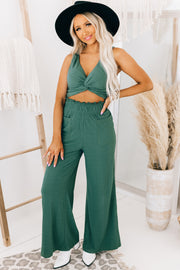 Flaunt Factor Two Piece Set (Emerald) - NanaMacs