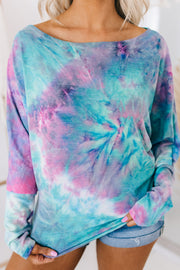 Positive Outlook Tie Dye Top (Multi) - NanaMacs