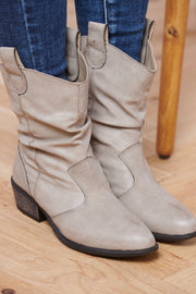 Scoot This Way Bootie (Grey)
