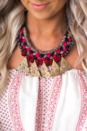 Danae Statement Necklace (Multi) - NanaMacs