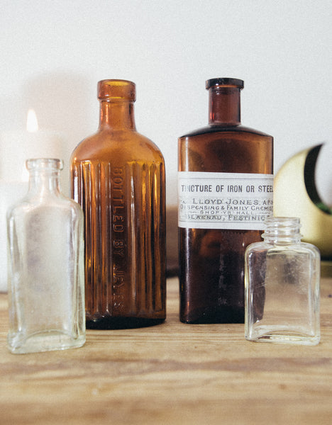 Set of Bottles