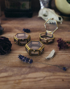 Set of Three Miniature Trinket Boxes