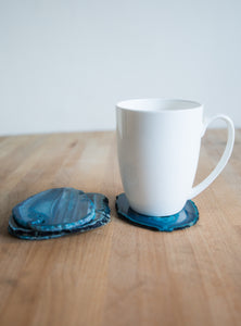 Agate Slice Coaster set