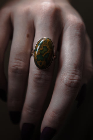 The Dragon Blood Jasper Ring