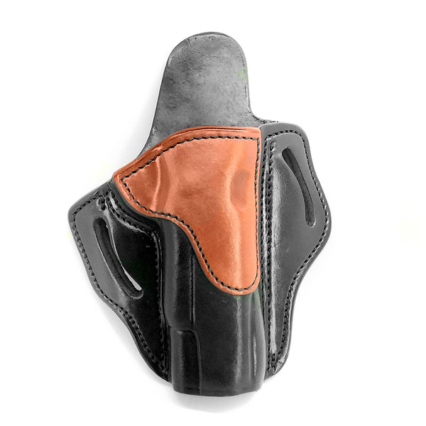 1791 GUNLEATHER BH1 Black on Brown RH One size Holster (BH1-BLB-R)