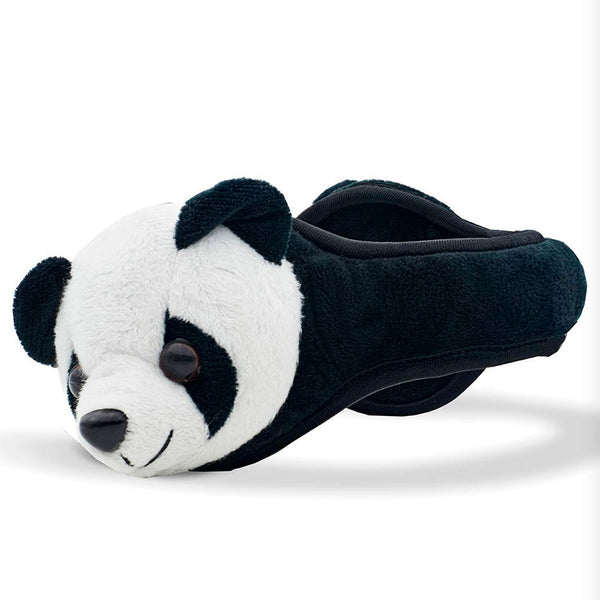 180S Youth Panda Black/White Ear Warmer (41505-901-01)