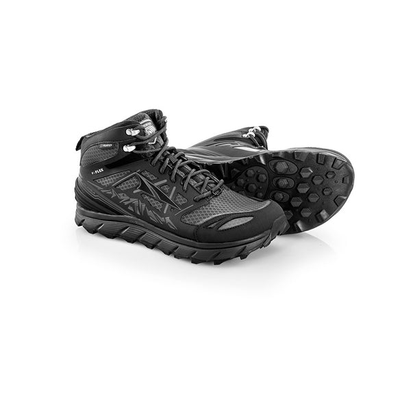 ALTRA Mens Lone Peak 3 Mid Neo Black Trail Running Shoes (A1653MID-5)
