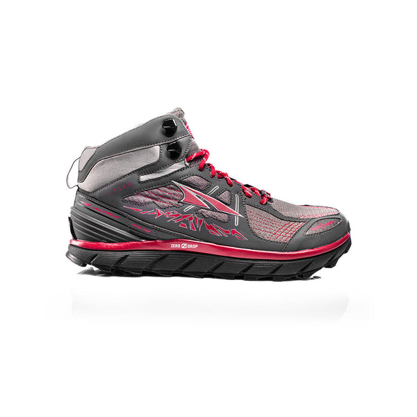 ALTRA AFM1755H-3 Mens Lone Peak 3.5 Mid Mesh Red Trail Running Shoes