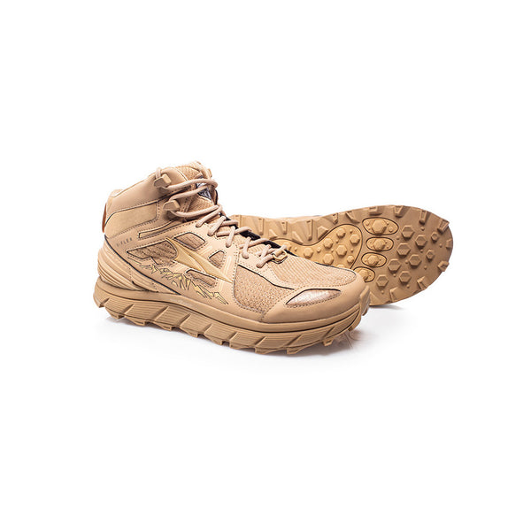 ALTRA Womens Lone Peak 3.5 Mid Mesh Sand Trail Running Shoes (AFW1755H-7)