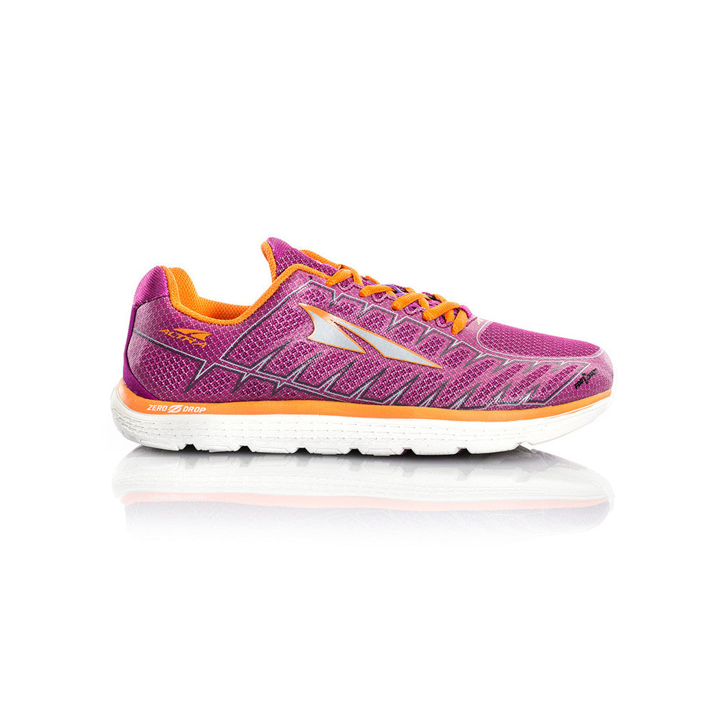 ALTRA Womens One V3 Purple-Orange Running Shoes (AFW1734F-1)