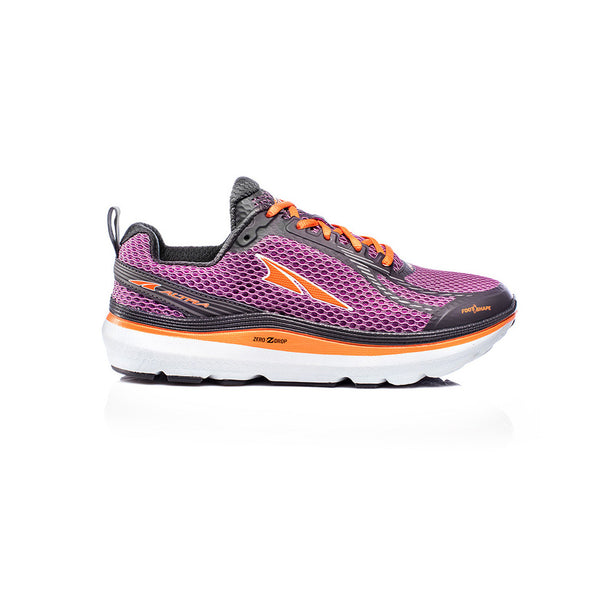 ALTRA Womens Paradigm 3 Purple-Orange Running Shoes (AFW1739F-4)