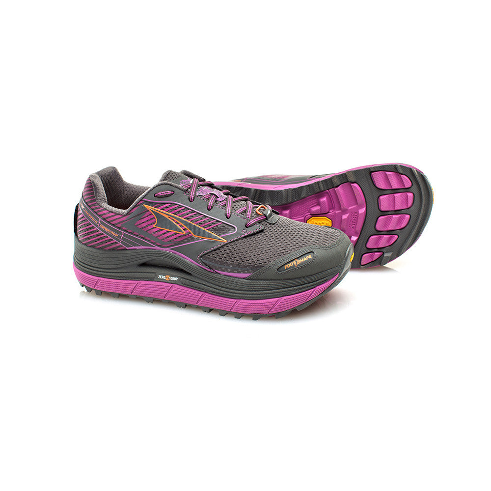 ALTRA Womens Olympus 2.5 Purple Trail Running Shoes (AFW1759F-1)