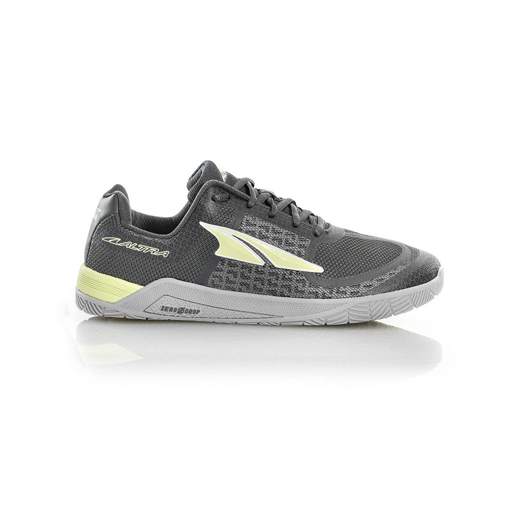 ALTRA Womens HIIT XC Gray-Lime Crossfit Shoes (AFW1776P-2)
