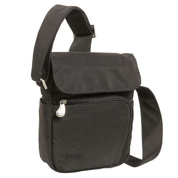 AMERIBAG 27223-BK Rifton Black Messenger Bag