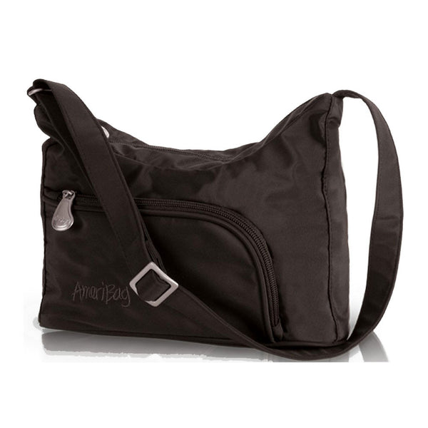 AMERIBAG 27303-BK Phoenician Black Shoulder Bag