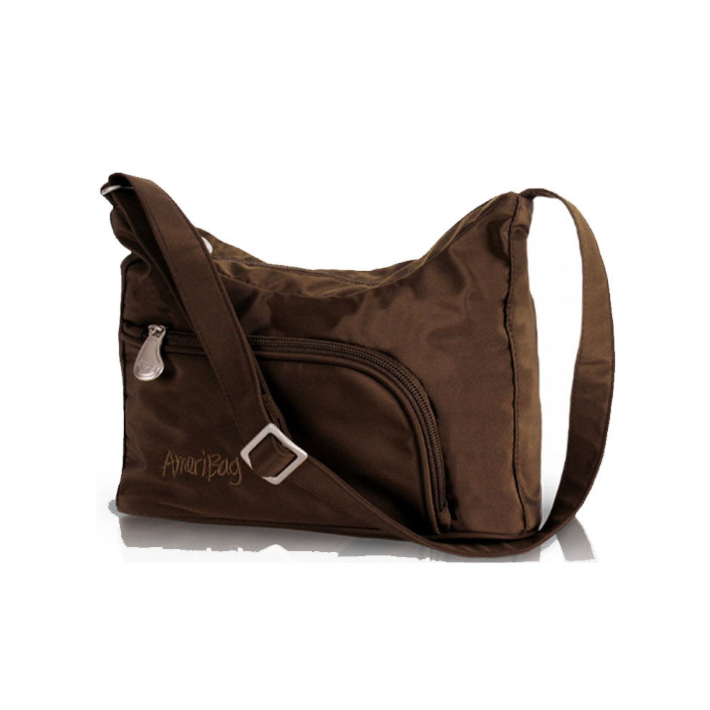 AMERIBAG Phoenician Chocolate Shoulder Bag (27303-CH)