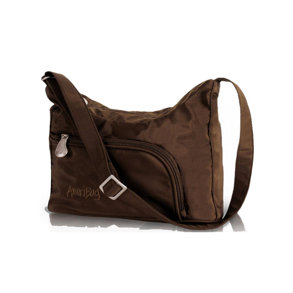 AMERIBAG 27303-CH Phoenician Chocolate Shoulder Bag