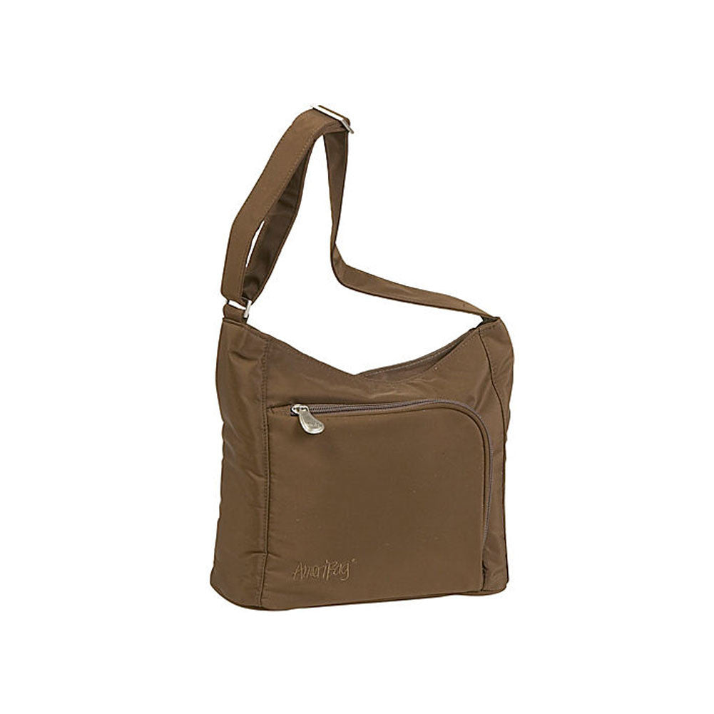 AMERIBAG Willow Chocolate Shoulder Bag (27553-CH)