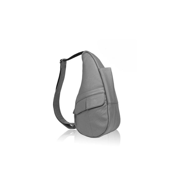 AMERIBAG 5102-GY Leather XS Grey Healthy Back Bag