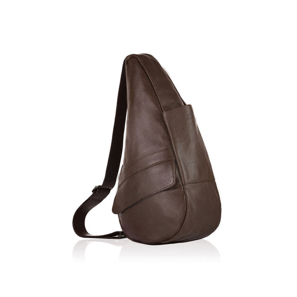 AMERIBAG 5103-EP Leather Small Espresso Healthy Back Bag