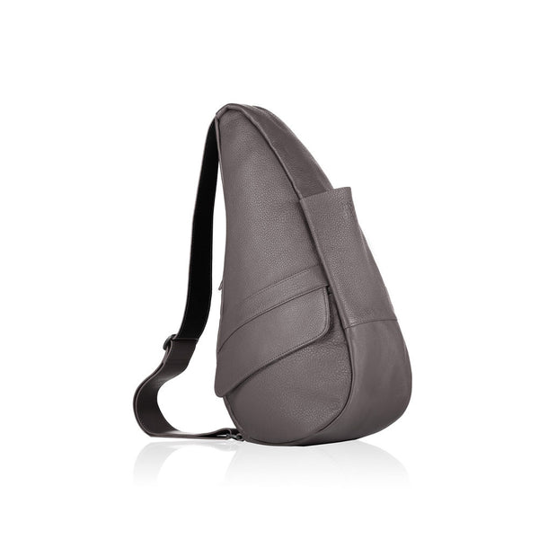 AMERIBAG 5103-GY Leather Small Grey Healthy Back Bag