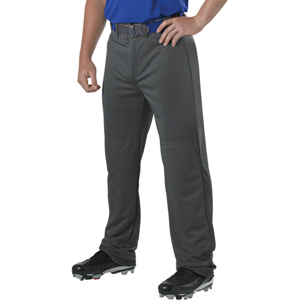 ALLESON ATHLETIC Youth Adjustable Inseam Charcoal Baseball Pant (605WAPY-CH)