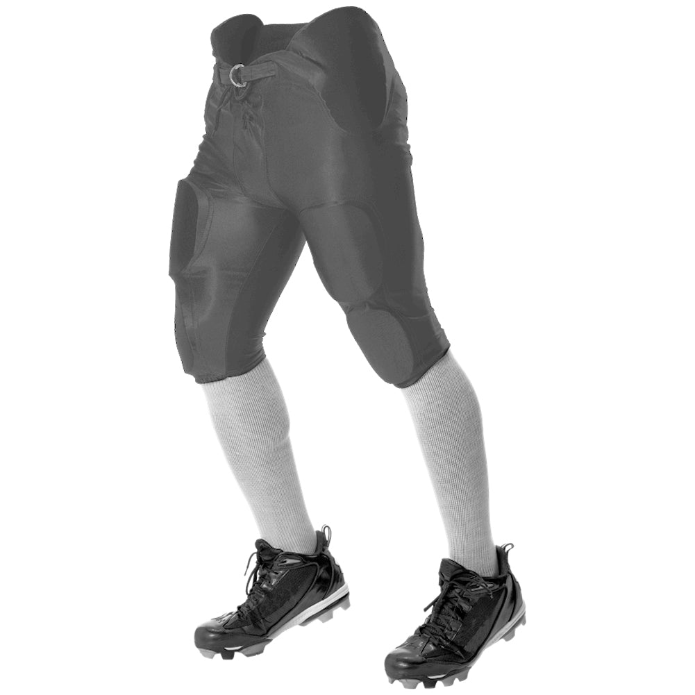ALLESON ATHLETIC Youth Solo Series Integrated Charcoal Football Pant (688DY-CH)