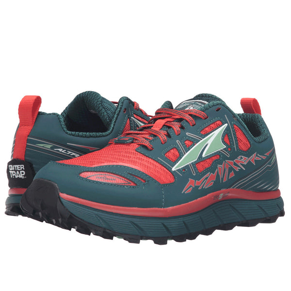 ALTRA A2653-1 Womens Lone Peak 3 Red/Deep Sea Running Shoes