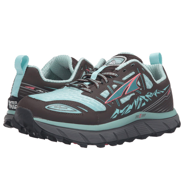 ALTRA A2653-5 Womens Lone Peak 3 Blue Running Shoes