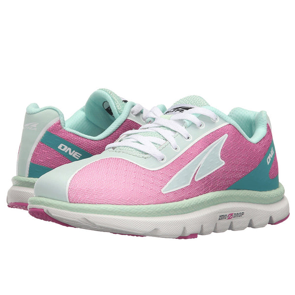 ALTRA Kids One Jr Fuschia/Mint Running Shoes (A4623-4)