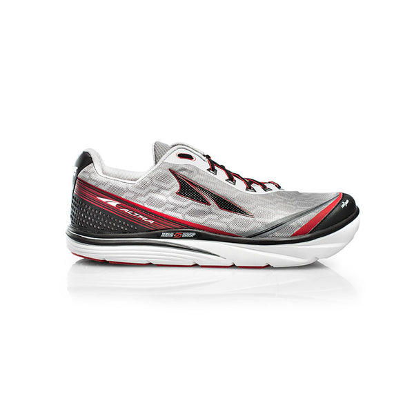 ALTRA Mens Torin IQ Gray-Red Running Shoes (AFM1737Q-3)