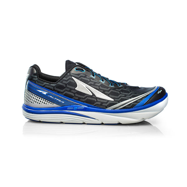 ALTRA Mens Torin IQ Black-Blue Running Shoes (AFM1737Q-4)